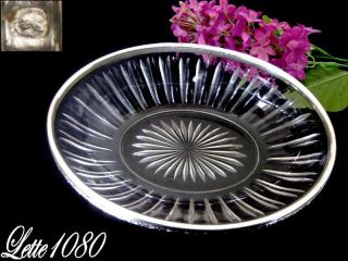 French Sterling Silver Bread & Baccarat Minerva 1 St photo