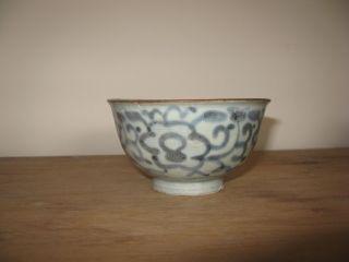 Nanking Cargo Provincial Floral Bowl C1750 photo