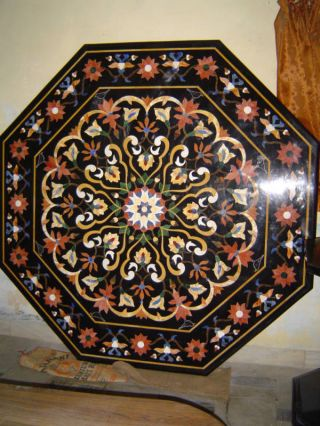 Micromosaic Pietra Dura Table Top Medallion Backsplash photo