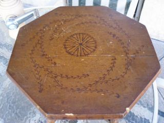 Antique Estate Bamboo Table - Circa 1800 ' S photo
