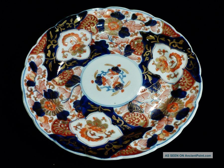 Wonderful Collectable Antique Porcelain Imari Plate Edo Period C 1860 ' S. Uncategorized photo