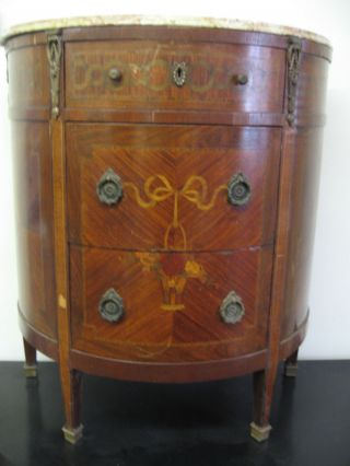 Stunning And Unique Antique 19th Century French Commode photo