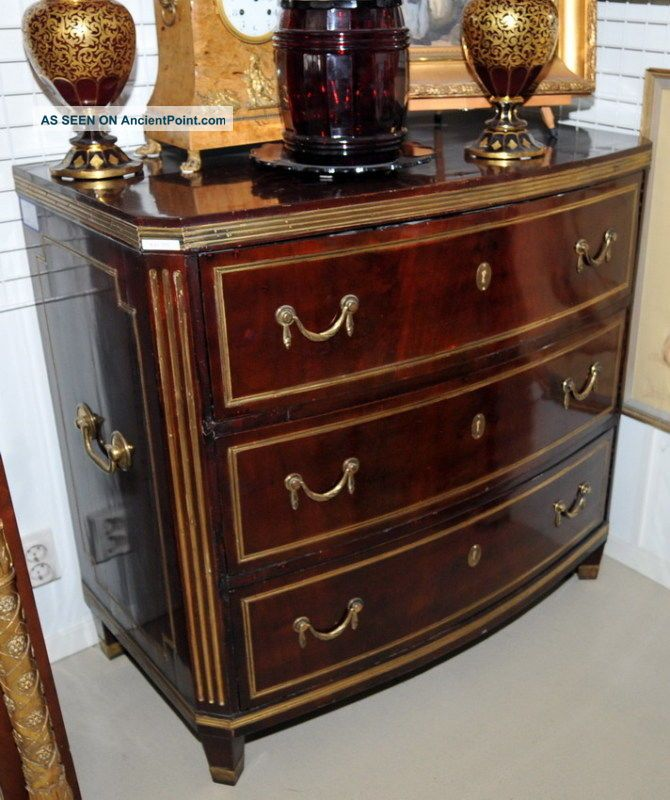 Late 1700 - S Russian Jacob Chest Commode Pre-1800 photo