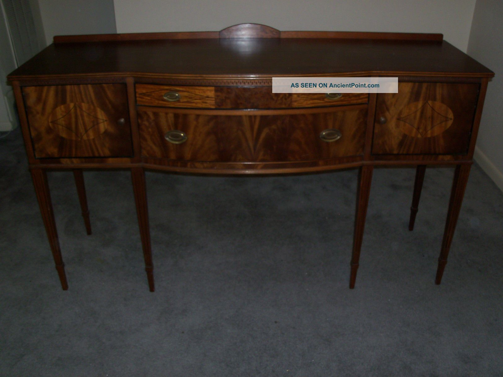 Federalists Sideboard/buffet - See Costs/ship Within 600 Miles 1900-1950 photo