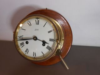 Vintage Schatz German Mariner Ships Clock photo