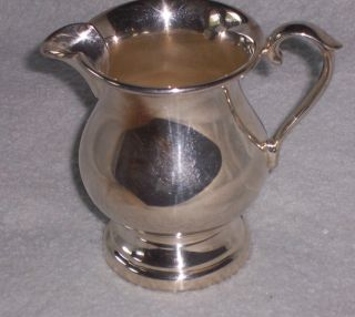 Sheffield Silver Plated Footed Creamer 60x photo