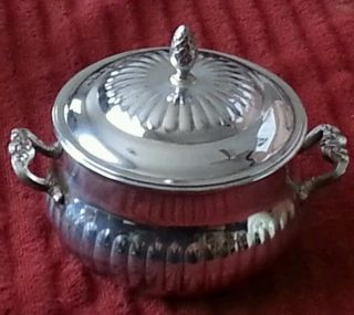 Eales 1779 Silver Plate Candy/sugar Bowl photo