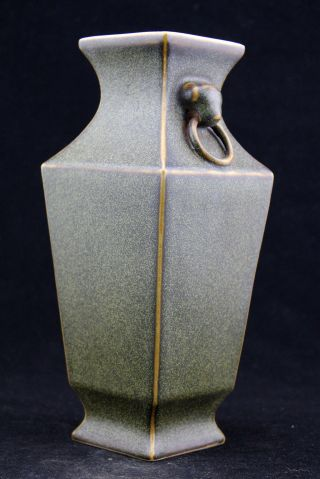 Oriental Vintage Handwork Porcelainold Rare Beauty Vases photo