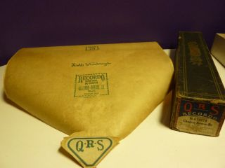 Vintage Piano Roll Qrs M - 616070 Cheerie - Beerie - Be photo