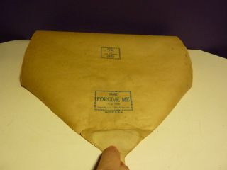 Vintage Piano Roll Ideal Or Qrs ? 06465 Forgive Me Fox Trot photo