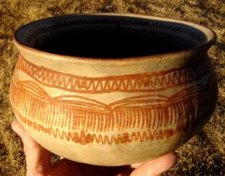Bowl: Birthing Rites / Painted.  Southern Arizona photo