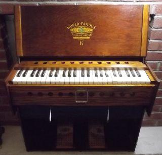 Antique Organ Bilhorn Brothers Style K Folding Telescoping Organ photo