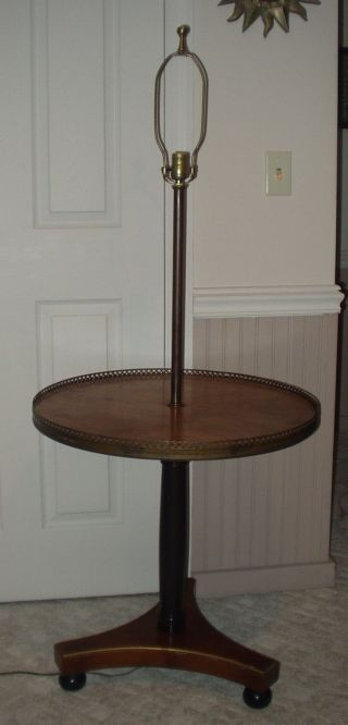 Vintage Empire Lamp Table By Kadan Furniture Co.  Beacon Hill Collection photo
