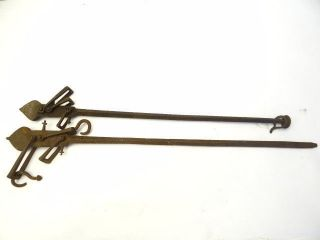 Antique Old Metal Cast Iron Stamped Whitmore 200 310 Merchants Scale Parts Arms photo