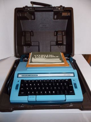 Vtg.  Smith Corona Sterling Cartridge Electric Typewriter With Case - 3lrl photo