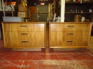 Mid Century Lane Nightstands End Table Pair photo