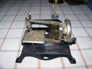 Antique Toy Sewing Machine photo