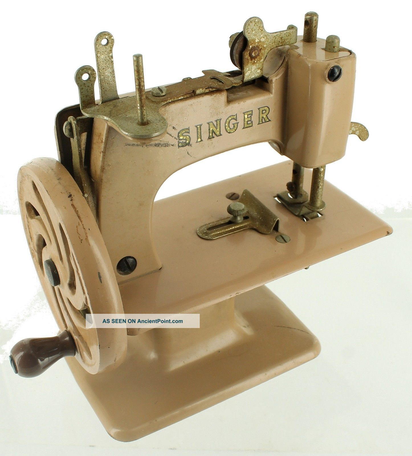 Antique Vintage Singer 20 Sewhandy Toy Sewing Machine Small Child