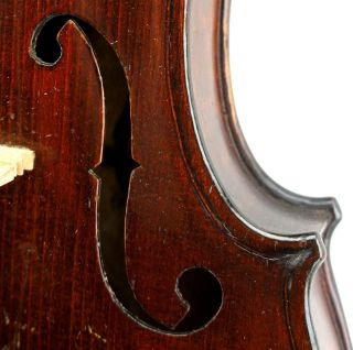 Very Good Antique,  American,  Rhode Island Violin By John E.  Clark,  Ready - To - Play photo
