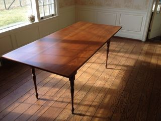 D.  R.  Dimes Solid Cherry Harvest Table - $2,  800 New photo