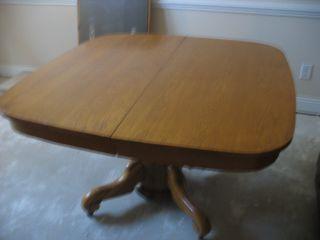 Round Oak Table photo