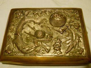 Antique Chinese Cigarette Case photo