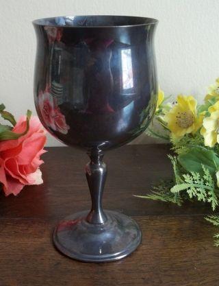 Vtg Reed & Barton Silverplate Wine Drinking Goblet 5608 photo