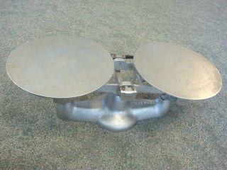Vintage Heavy Cast Iron Balance Beam Scales Penn Scale Mfg Usa Mercantile Store photo