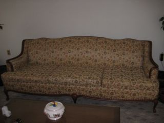 Vintage French Provincial Living Room Set Sofa / Couch photo