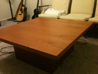 Danish Modern Coffee Table, photo