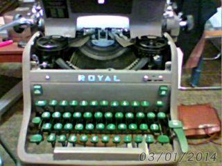 Royal Hh Typewriter photo
