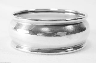 Vintage Sterling Silver Napkin Ring Roden Bros/birks No Mono Multiples Available photo