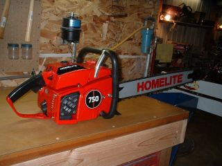 Vintage Homelite 750 Chainsaw Totally Restored photo
