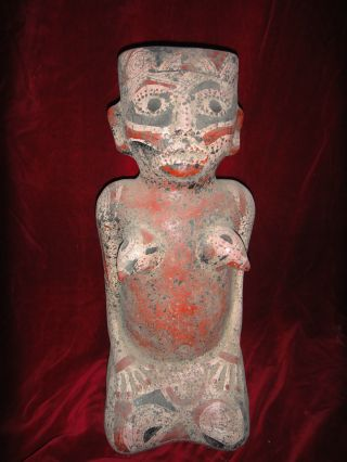 Vintage Mayan Statue (reproduction) photo