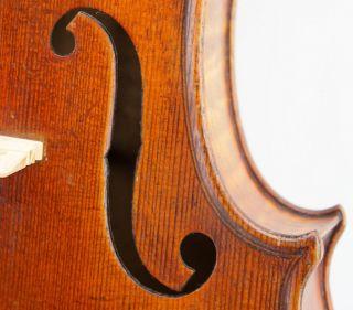 Excellent Antique German Violin,  Ernst Heinrich Roth,  Ruggeri Model C.  1920s photo