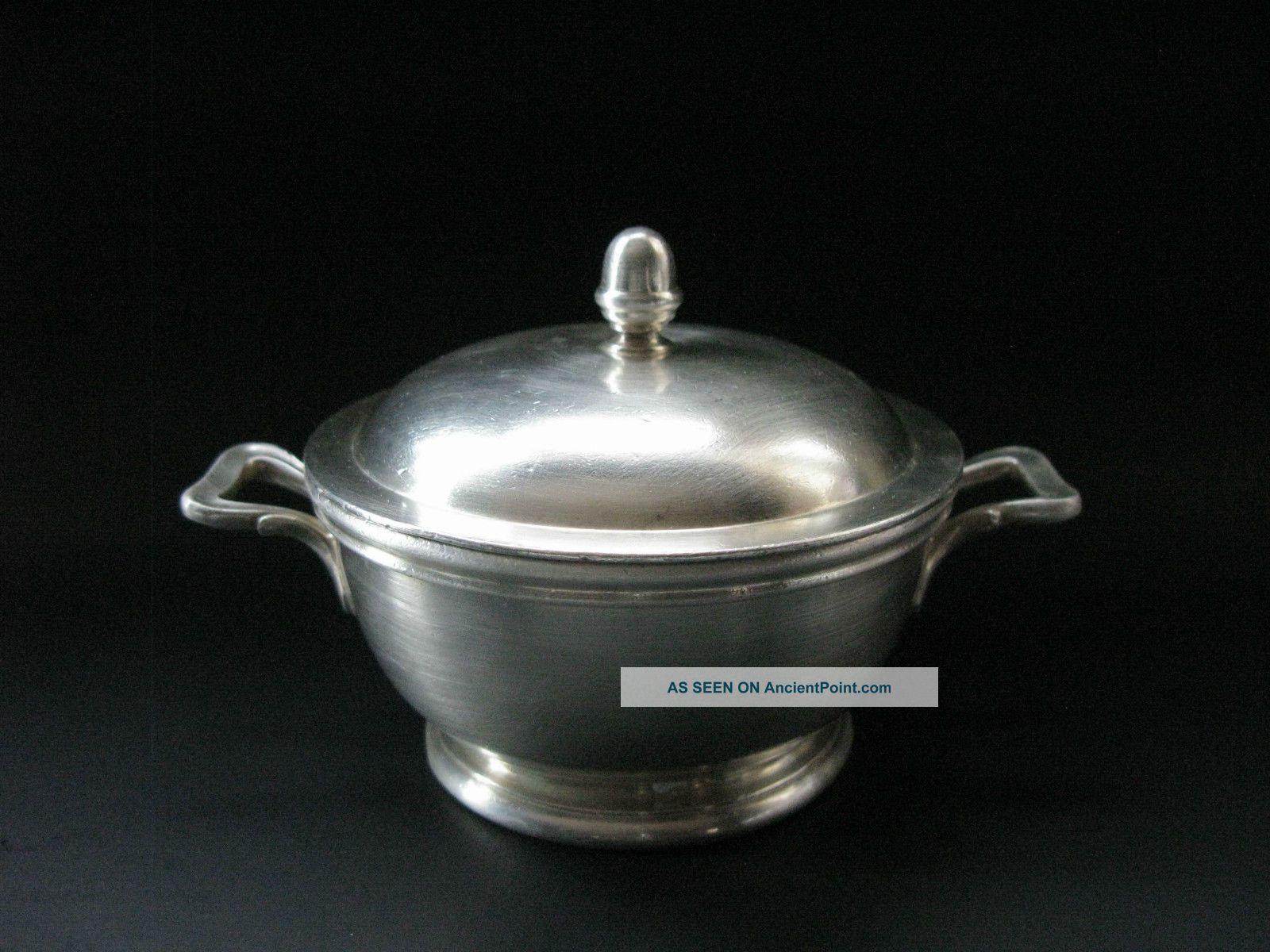 Vintage Reed Barton Silver Soldered Bowl Dish 10oz Ns 7640 Parker House Creamers & Sugar Bowls photo