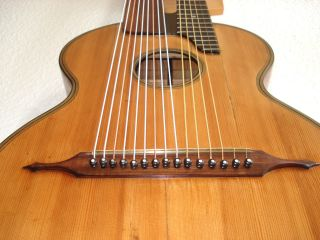 15 String Harpguitar From D.  Orsey.  1920 photo