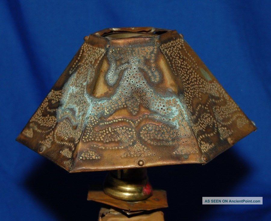 arts amp crafts candle lamp 1900   1905 arts amp crafts movement photo 1