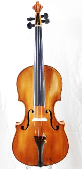 Antique 209 Year Old Anno 1805 Labeled 4/4 Master Violin (fiddle,  Geige) photo