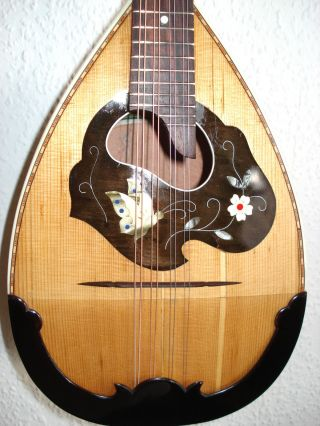 Musima Mandolin From Masterluthier M.  Müller 1951 photo