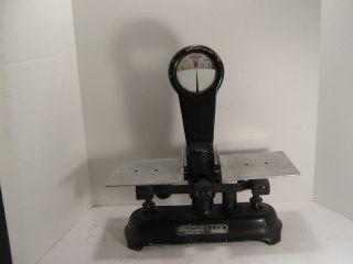Antique Detecto Gram Scale Serial No.  5d 7940 Detecto Scales Inc.  Brooklyn,  Ny photo