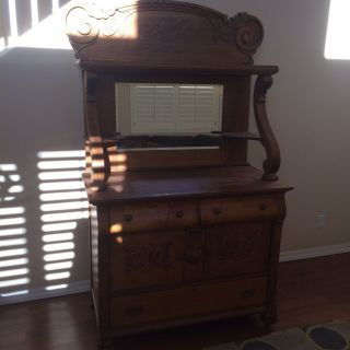 Antique Buffet photo