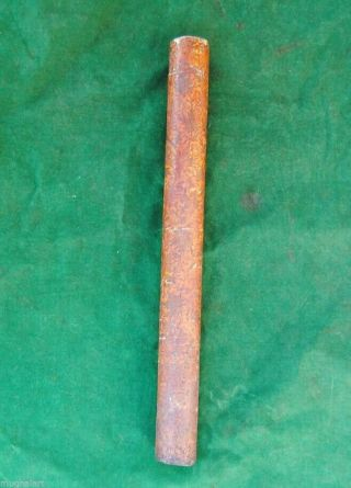 Antique Ottoman Islamic Mughal Kashmir Lacquer Quiver Arrow Case No Bow Archery photo