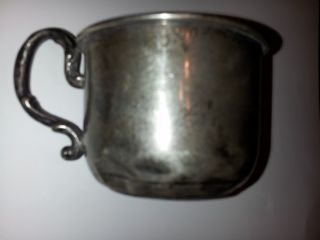 1920 Sterling Webster Company Baby Cup photo
