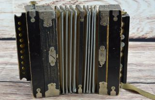 Antique Vintage Imperial Accordeon Accordion Repair Or Display Only photo