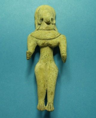 Ancient Indus Valley Idol Figure Fertility Mother Goddess Mehrgarh 2600 Bc photo