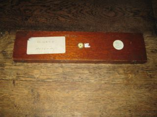 Baird & Tatlock Ltd Early 20th C Bar Magnets In A Long Mahogany Case photo