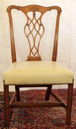 Sheraton Dining Chairs,  Set Of Six photo