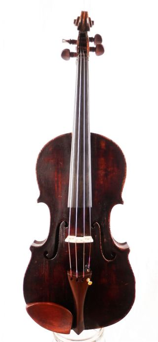 Antique 101 Year Old Anno 1913 Labeled 4/4 Master Violin (fiddle,  Geige) photo