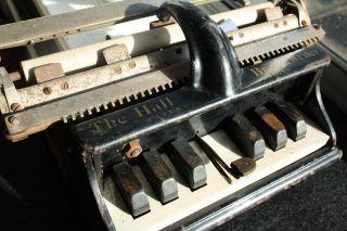 Antique Typewriter The Hall Braille Writer No.  1 Y.  1892 Schreibmaschine photo